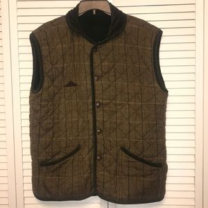 Mountain Horse Original Revisable Wool Plaid Vest